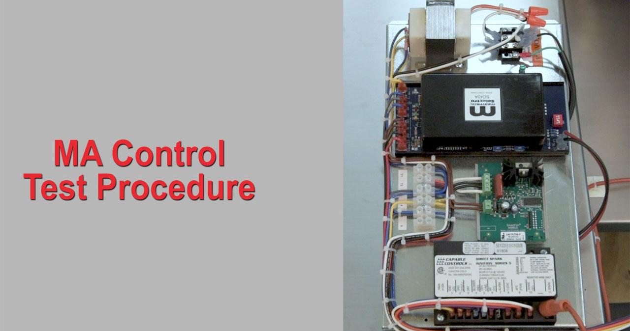 MA Control Test Procedure