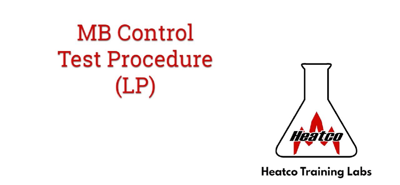MB Control Test Procedure - LP